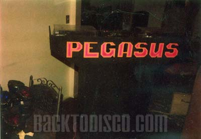 The Pegasus DJ Booth. Pegasus was the dominant mobile dj system and lights in the late 70s and early 80s. Pegasus set   the standards and bar for the future of mobile dj'n the the Southern California area.