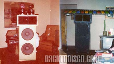 Mobile DJ Pegasus early speakers. Pegasus was the dominant mobile dj system and lights in the late 70s and early 80s. Pegasus set   the standards and bar for the future of mobile dj'n the the Southern California area.