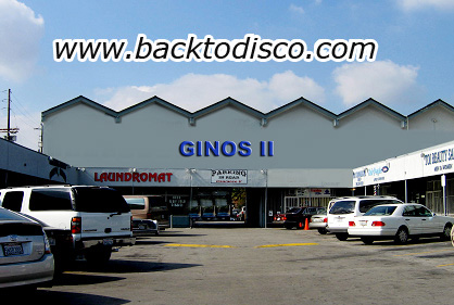Legendary club Ginos 2 and its present location.
